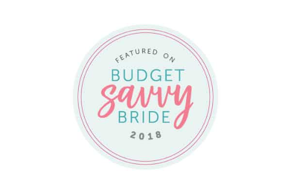 Budget Savvy Bride badge