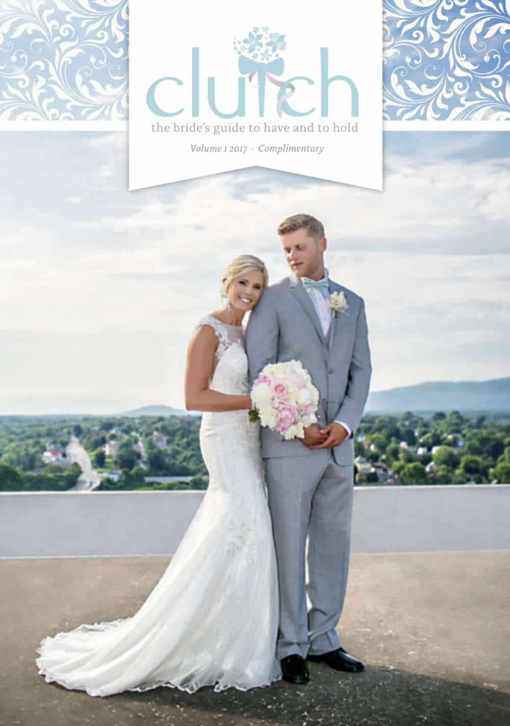 Phofo of the cover of The Cluth Wedding 2017 guide