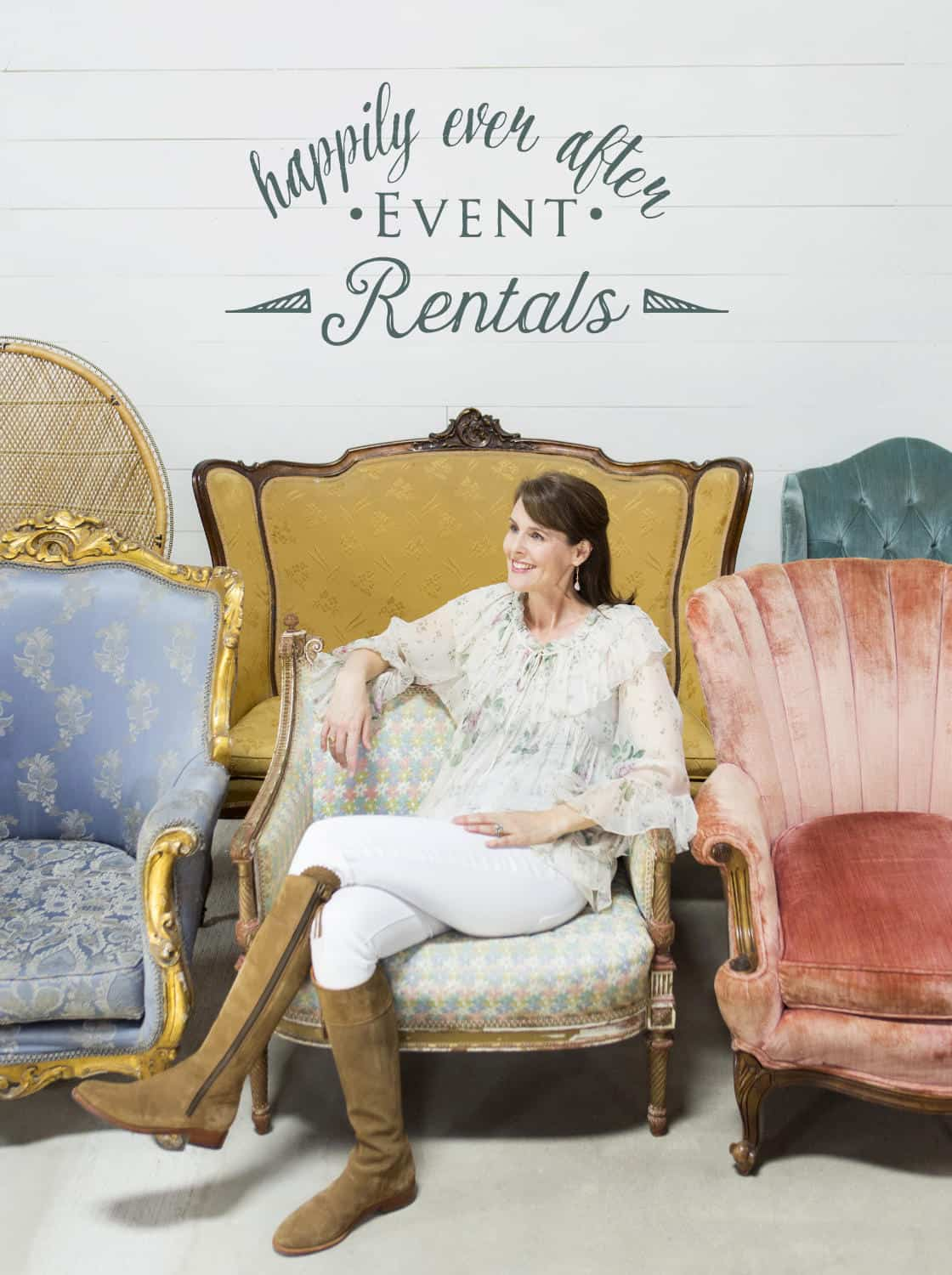 As Seen In magazine cover with Melanie Woods of Happily Rented