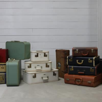 Photo of antique luggage